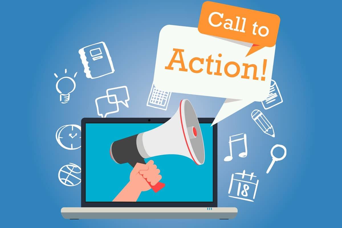 Hero Image Call To Action Website Design Windsor