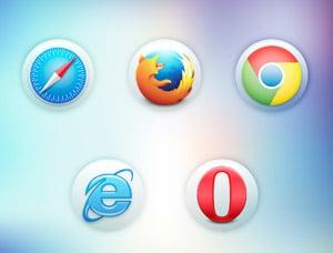 web browsers in website design windsor Cowlick Studios
