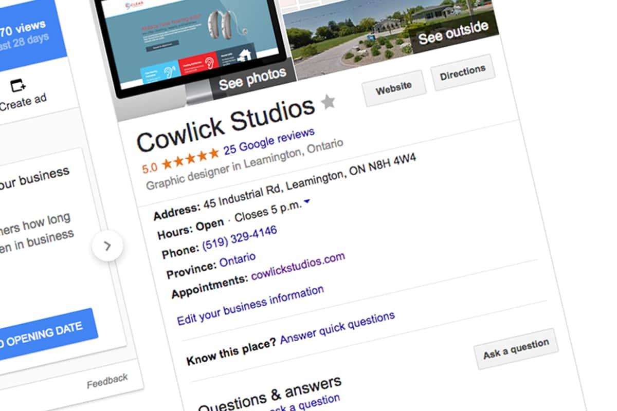 Google-My-Business-Setup Marketing Windsor