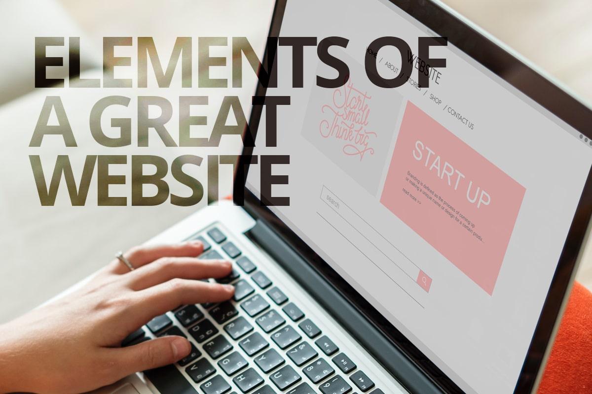 elements of a great website from Cowlick Studios website design windsor