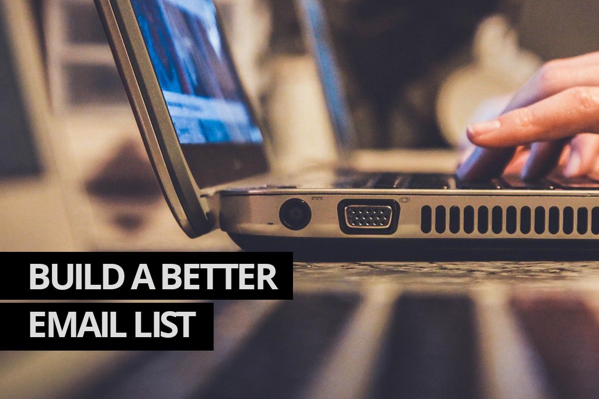Build a Better Email List Cowlick Studios Web Design Windsor