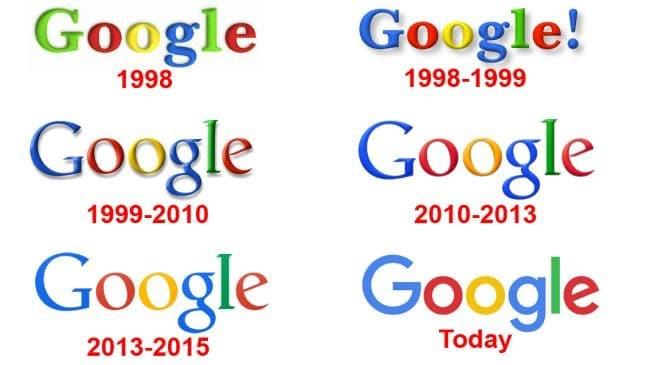 re-branding Google