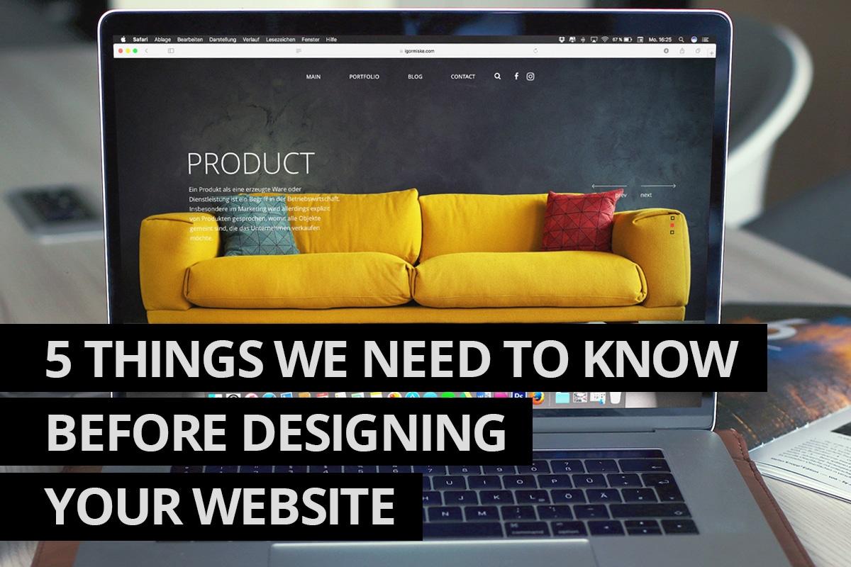 Designing Your Website - Cowlick Studios Website Design Windsor