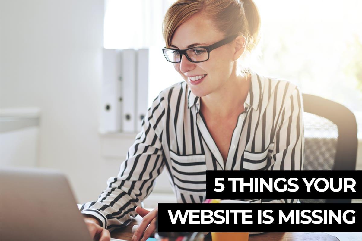5 Things your website needs - Cowlick Studios