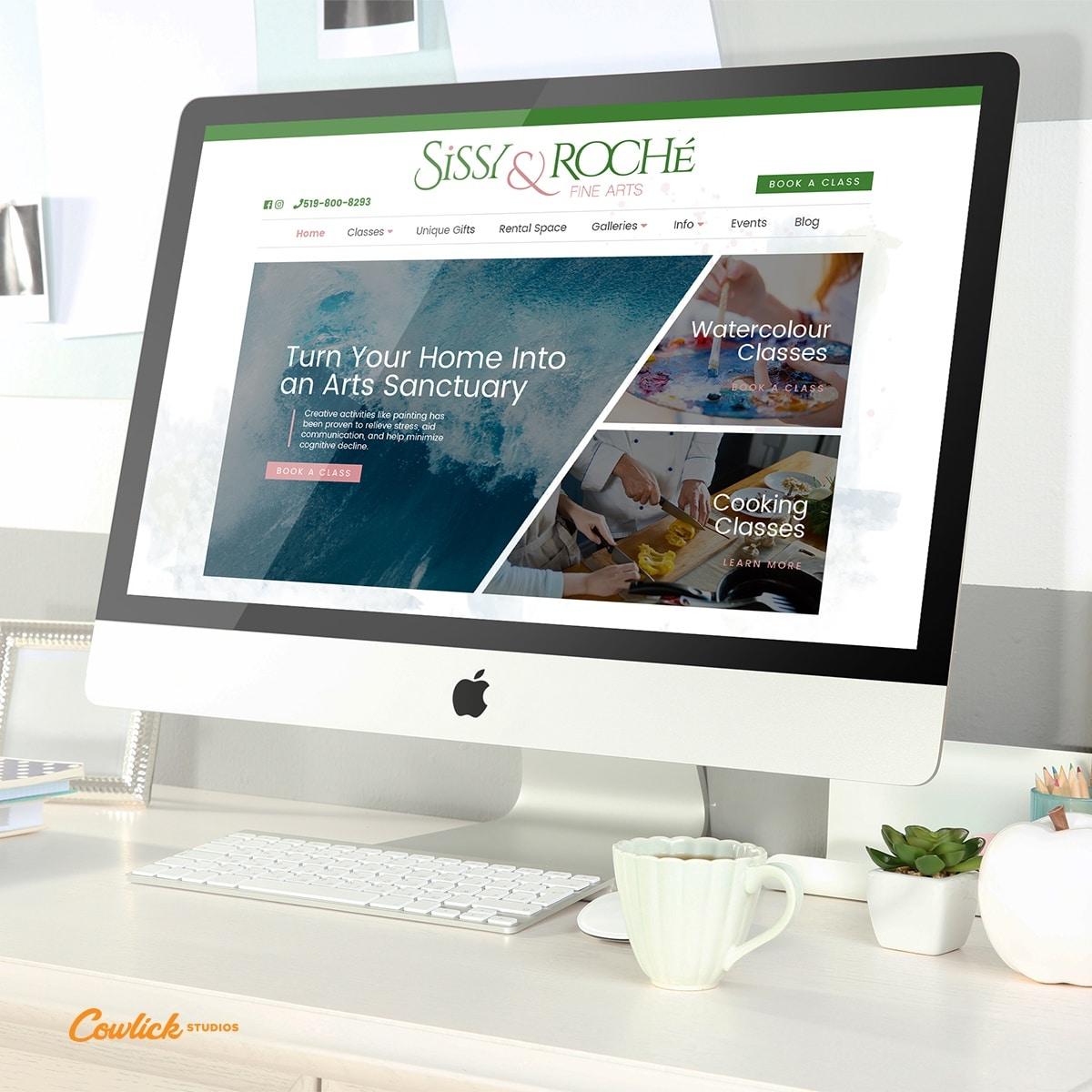 Sissy & Roche Website Design Kingsville