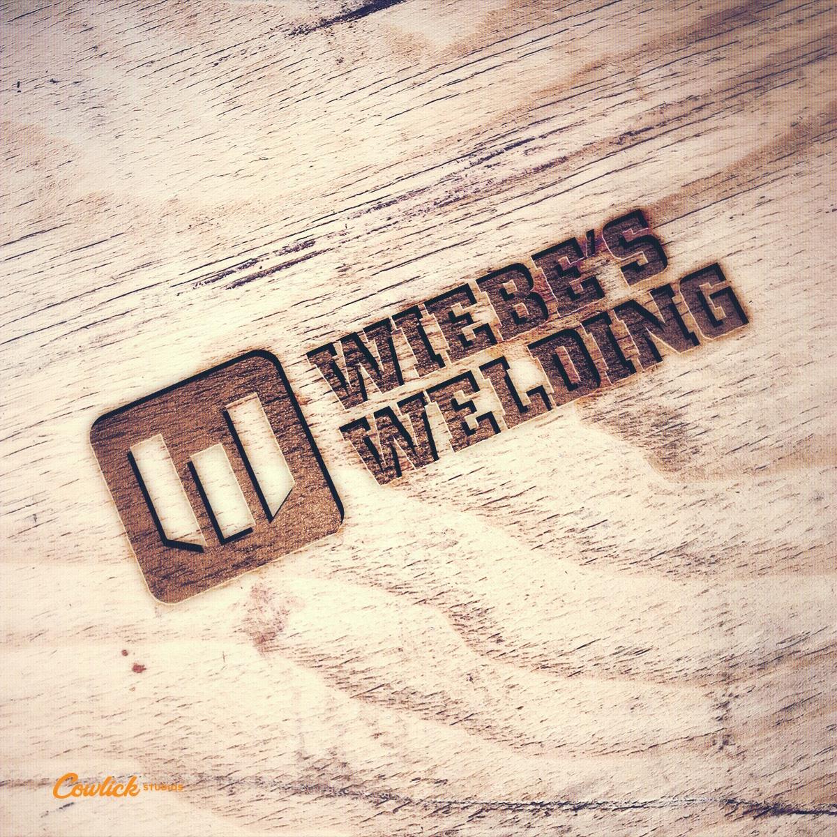 Wiebe's Welding Branding Cowlick Studios Leamington