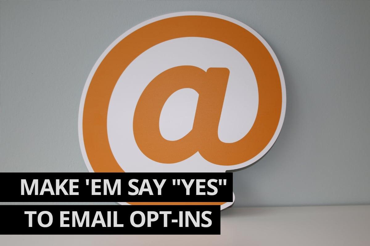 Email Opt-in Cowlick Studios Digital Marketing Windsor