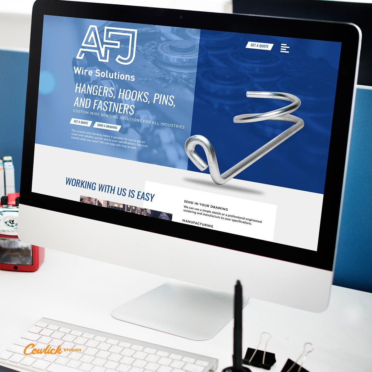 Web Design Kingsville - AFJ Wire Solutions Web Design