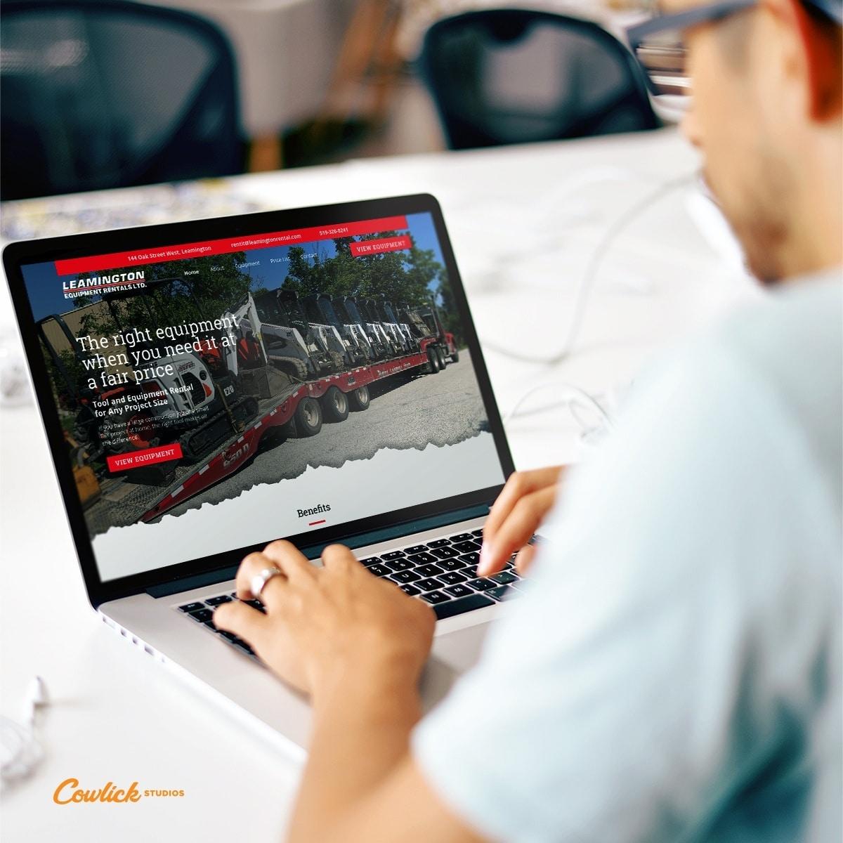 Web Development Leamington - Leamington Rentals Web Design