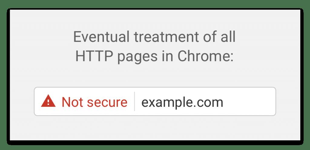 SSL Certificate Warning Google Chrome