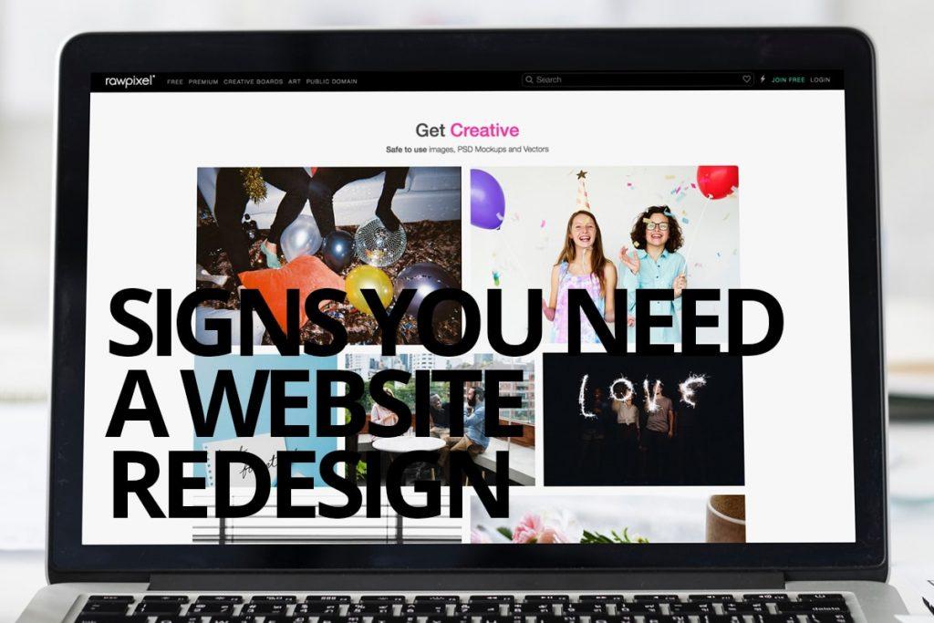 Do I need a website redesign? Cowlick Studios Website Design Windsor