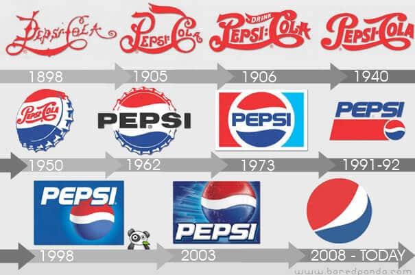 re-branding by Pepsi