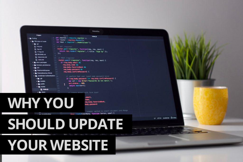Update Your Website - Website Design and Development Company Ontario