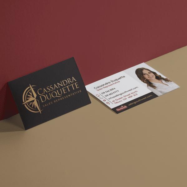 Cassandra Duquette Business Cards
