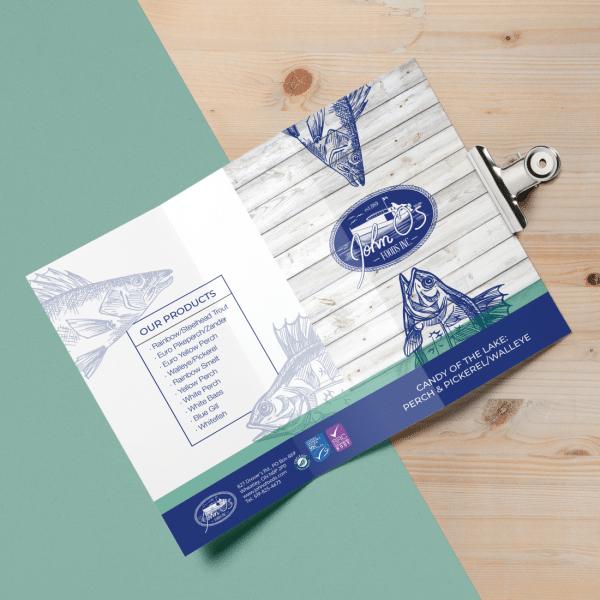 John O Foods Fish Brochure