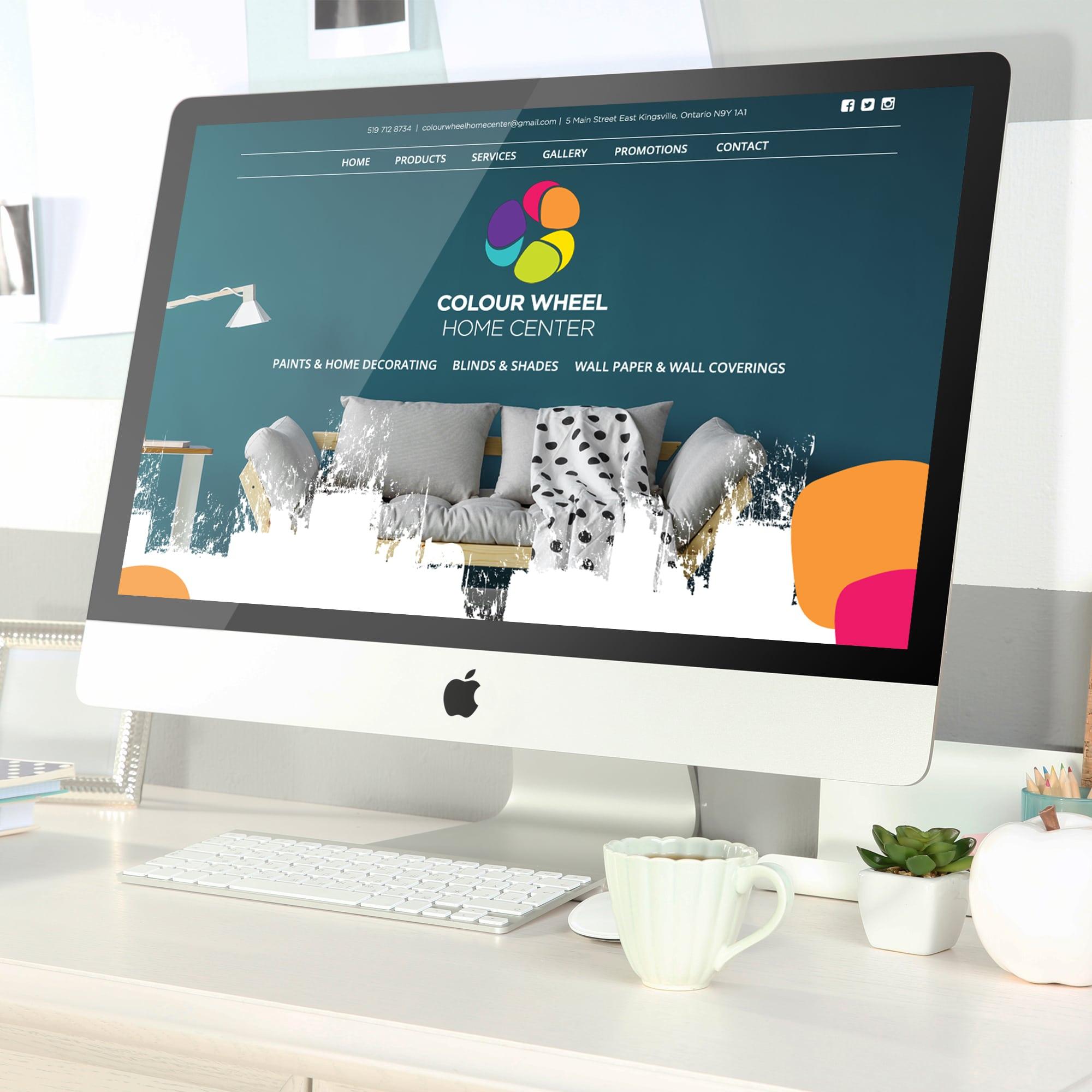 colour wheel Website Design Kingsville