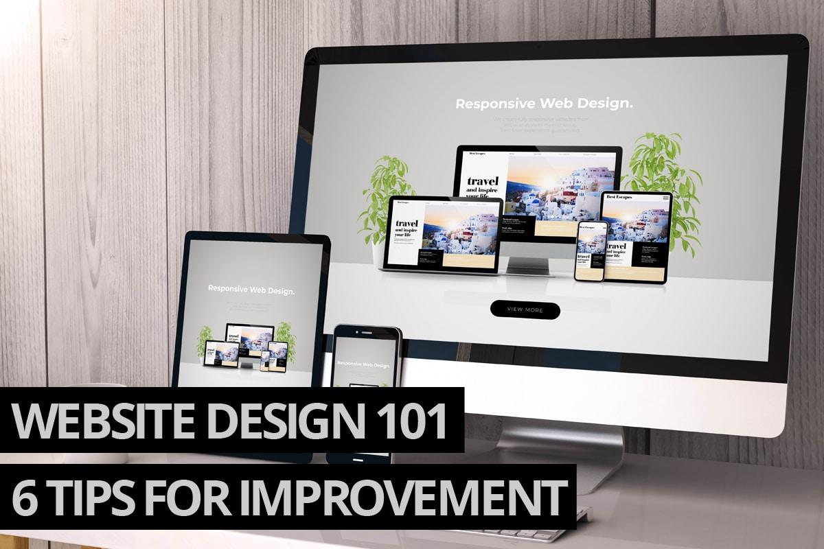 Website design 101
