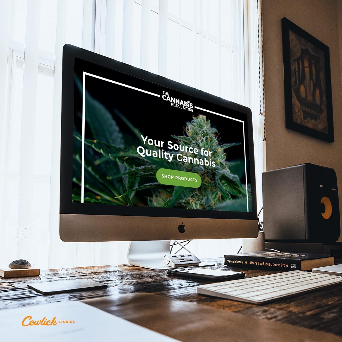 Cannabis Store Web Design
