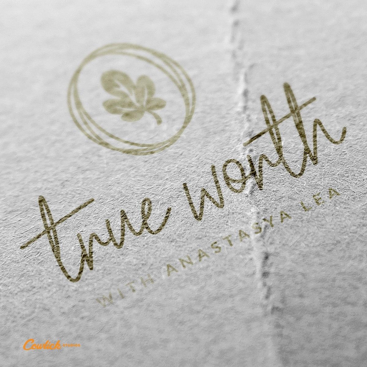 True Worth Logo Design Cowlick Studios