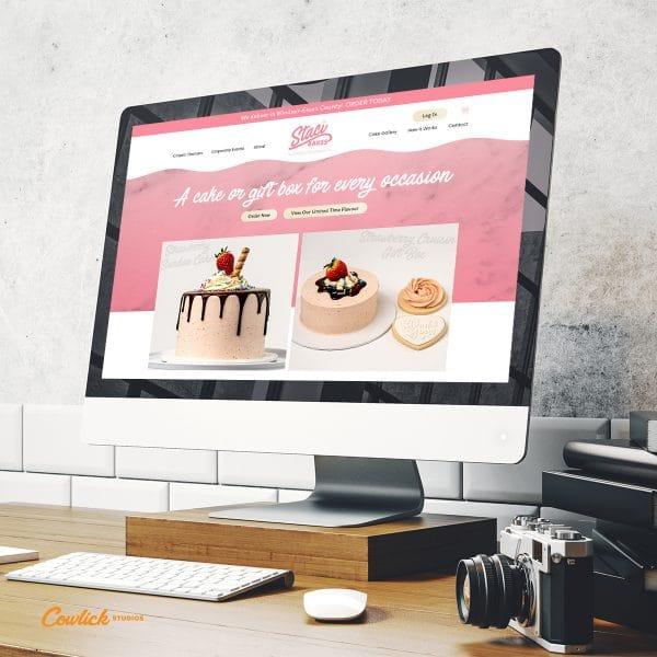 Staci Bakes Website Design