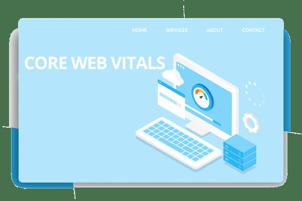 core web vitals site speed test